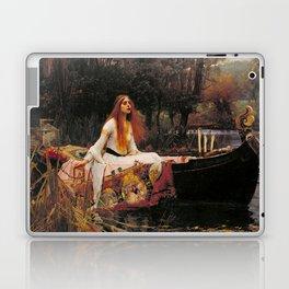 John William Waterhouse The Lady Of Shallot Restored Laptop & iPad Skin