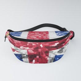 Extruded Flag of the United Kingdom Fanny Pack