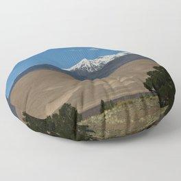Great Sand Dunes and Mount Herard Floor Pillow
