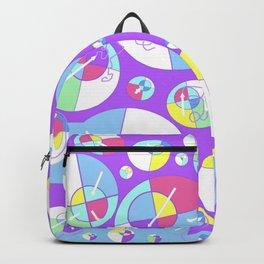 Bubble Purple Backpack