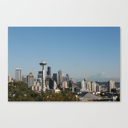 Space Needle from Kerry Park Canvas Print