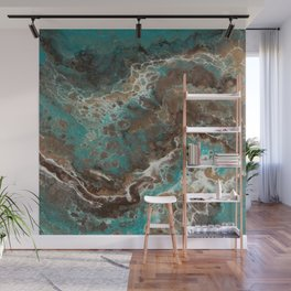 Water Flow, Abstract Acrylic Flow Art Wall Mural