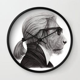 Fashion Lion Wall Clock