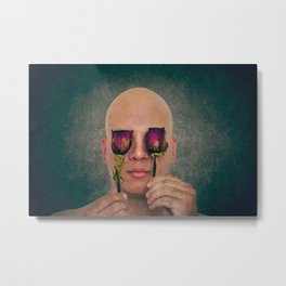 A withered perception Metal Print