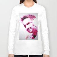 liam payne Long Sleeve T-shirts featuring Liam Payne by Drawpassionn