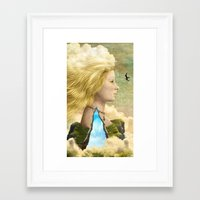aurora Framed Art Prints featuring Aurora by Diogo Verissimo