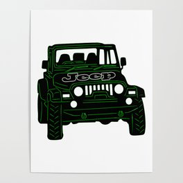 Jeep Poster