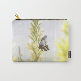 """Butterfly and Flowering Shindagger"" by Murray Bolesta! Carry-All Pouch"