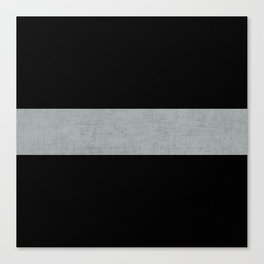 classic - black and gray Canvas Print
