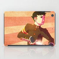 lawyer iPad Cases featuring Swordsman Lawyer by Zulaya