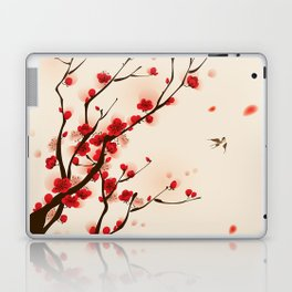 Oriental plum blossom in spring 005 Laptop & iPad Skin