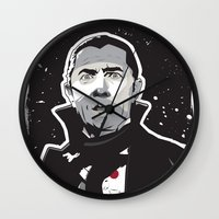 dracula Wall Clocks featuring Dracula by Matt Fontaine Creative