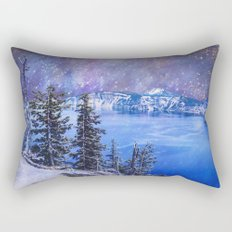 Top of the World Rectangular Pillow