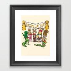 Awesome Hat Club Framed Art Print