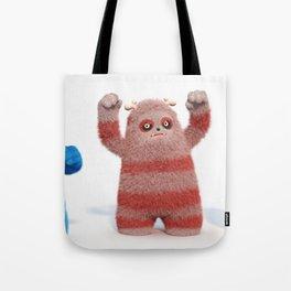 Yeti Attack Tote Bag