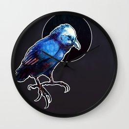 Magic Raven Wall Clock