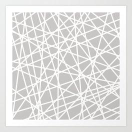 Lazer Dance Art Print