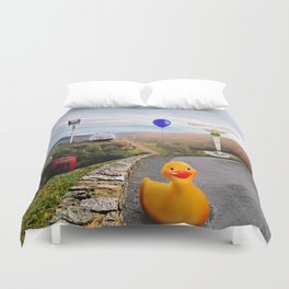Roadside Attractions Duvet Cover