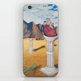 """Be Still My Heart"" iPhone Skin"