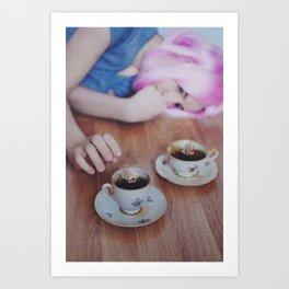 Coffee Storms Art Print