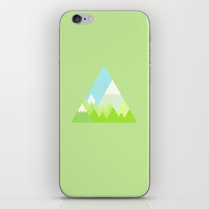 national park geometric pattern iPhone Skin