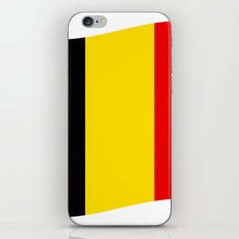 Belgian flag iPhone Skin