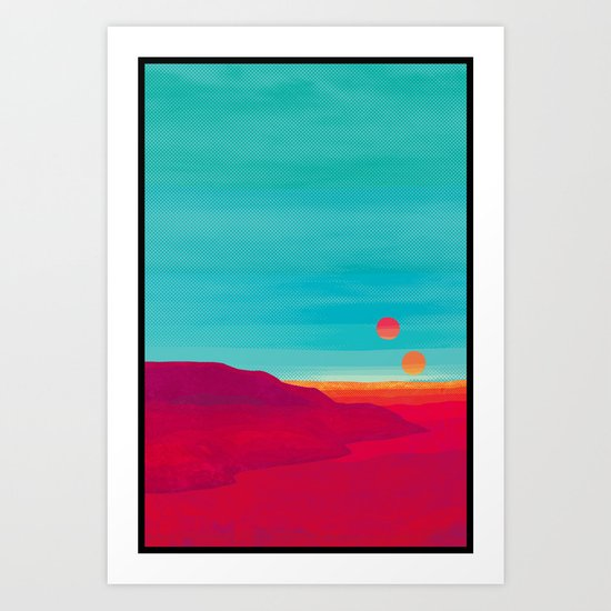 Far Away Art Print