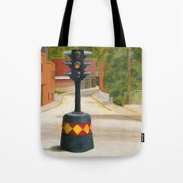 Beacon, NY's famous Dummy Light Tote Bag by beaconny | Society6