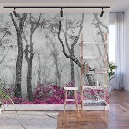 Princess Pink Forest Garden Wall Mural