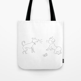 First word Tote Bag