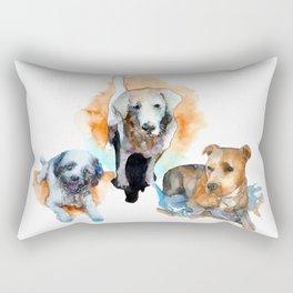 dogs#1 Rectangular Pillow