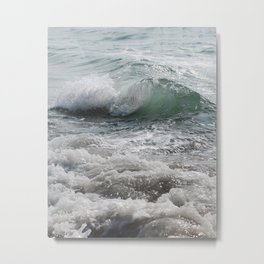 Curly Ocean Jam Metal Print