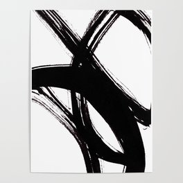 Abstract Wall art, Abstract Print, Black White Abstract Print, Black White Art, Minimalist Print, Ab Poster