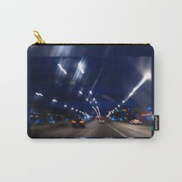 Cars motion street night lights Carry-All Pouch