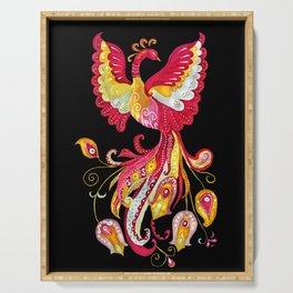 Firebird - Fantasy Creature Serving Tray