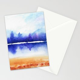 Purple Naturescape Stationery Cards