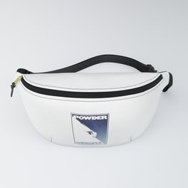 Powder to the People Fanny Pack