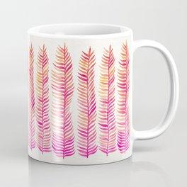 Pink Ombré Seaweed Coffee Mug