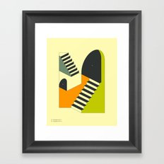 EMERGENCY EXITS (6) Framed Art Print