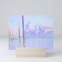 "Claude Monet ""Grand Canal Venice"" Mini Art Print"