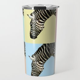 Zebra by Kokatu GREY Travel Mug