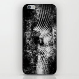 Creepy Runoff Drain iPhone Skin