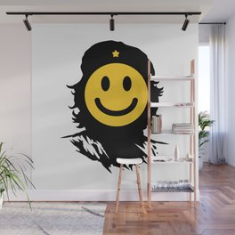 Smiley Che Wall Mural