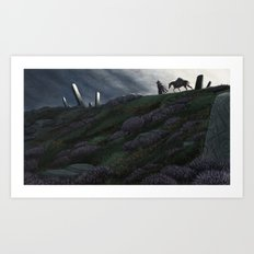 The Wayfarer Art Print