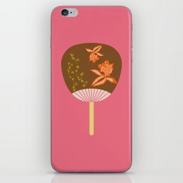 Chinese Antique - fan iPhone Skin