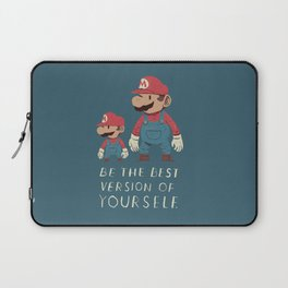 be the best version of yourself Laptop Sleeve