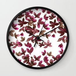 Born to Butterfly - Autumn Palette Wall Clock