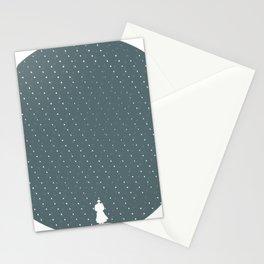 Rainy mood Stationery Cards