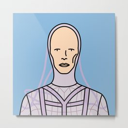 David Bowie – The Man Who Fell to Earth Metal Print