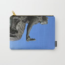 Blue girl Carry-All Pouch